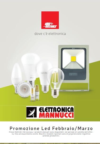 Lampade LED in promo a febbraio-marzo